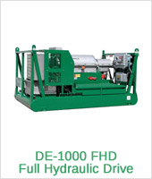 DE-1000 FHD Full Hydraulic Drive - Equipment Derrick