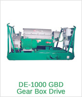 DE-1000 GBD Gear Box Drive - Equipment Derrick
