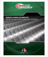 Derrick Screen Technology - API RP 13C (ISO 13501) Compliant Screens