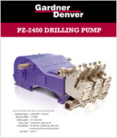 PZ 2400 Drilling Pump One | Gardner Denver