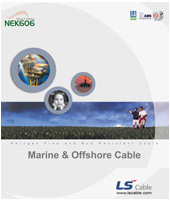 Offshore & Marine Cable (NEK606)